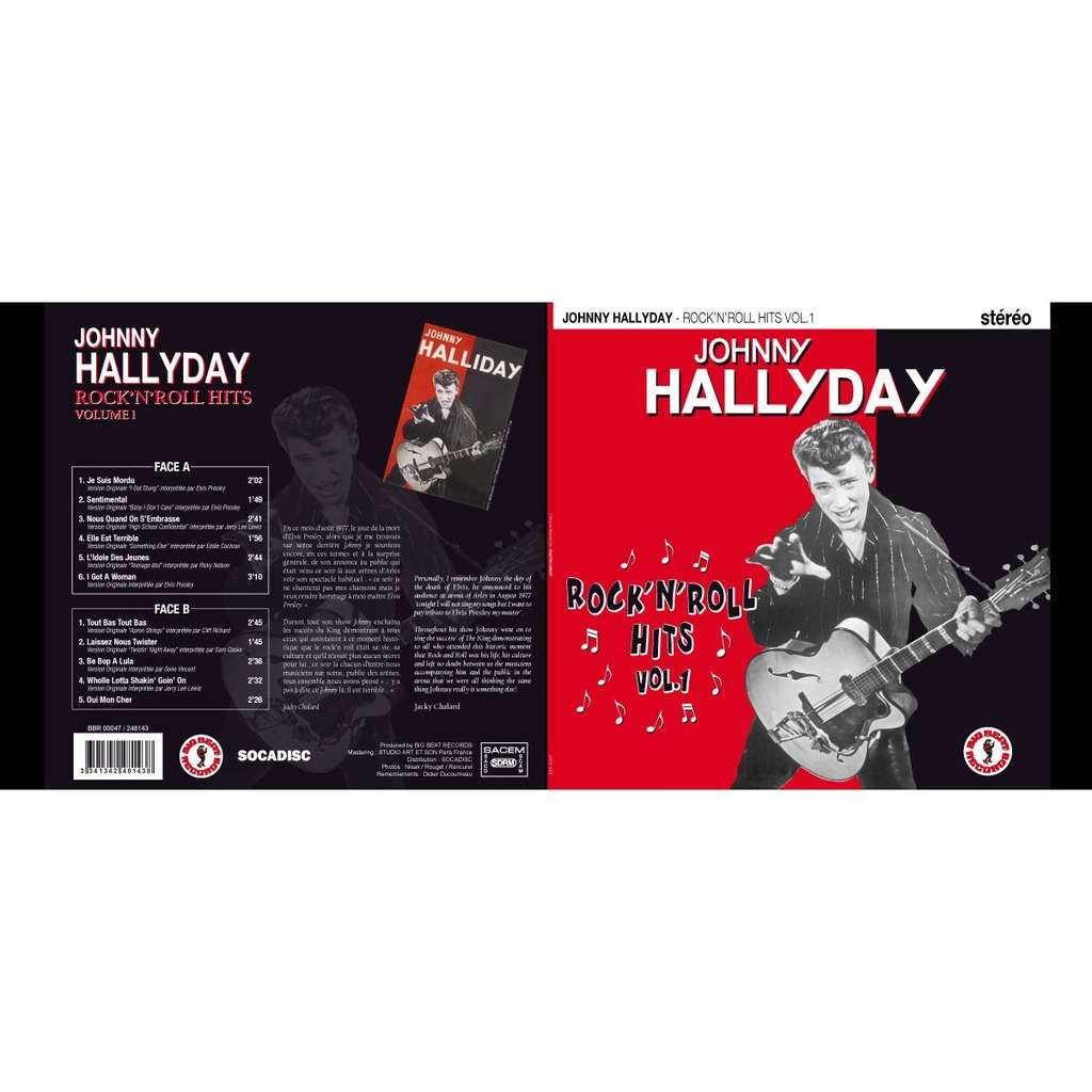 johnny hallyday Rock'n'Roll hits Volume 1