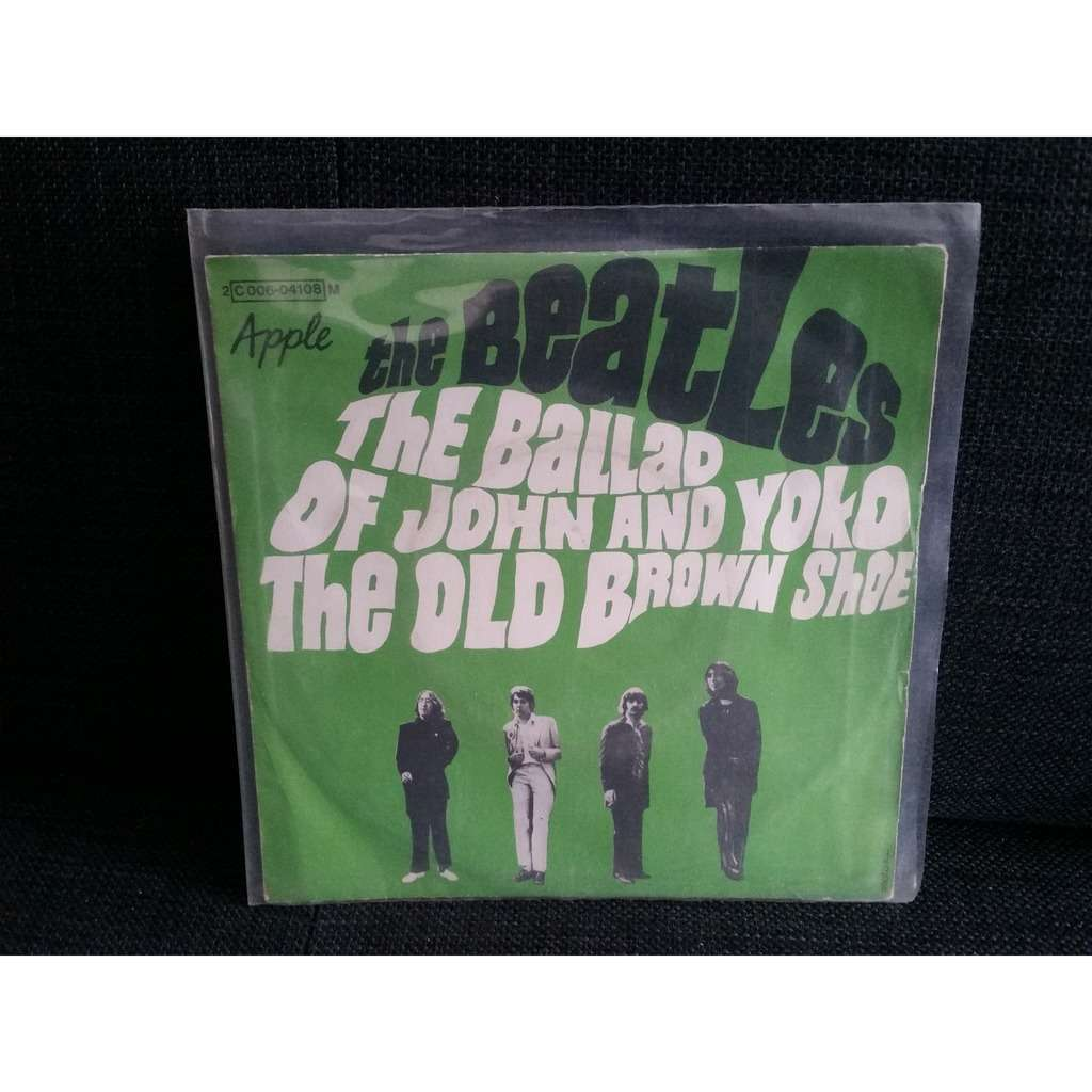 The Ballad Of John And Yoko By The Beatles Sp With