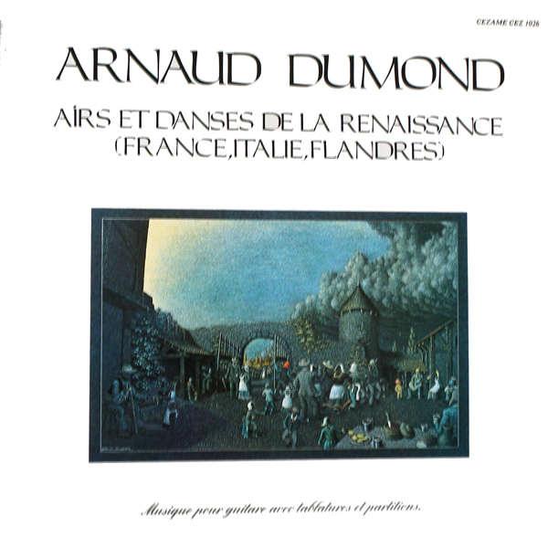 arnaud dumond Airs et danses de la Renaissance