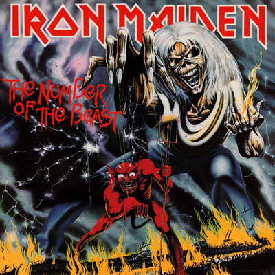 The number of the beast de Iron Maiden, CD chez ledotakas - Ref ...