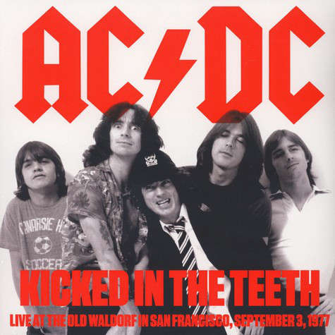 AC/DC Kicked In The Teeth (lp)