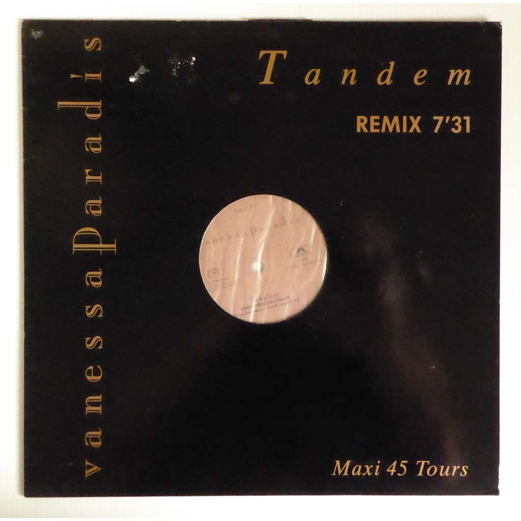 vanessa paradis, serge gainsbourg Tandem - maxi promo hors commerce (remix)