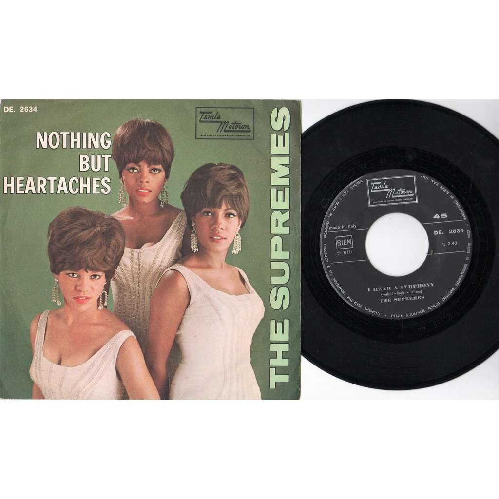 Supremes Nothing But Heartaches