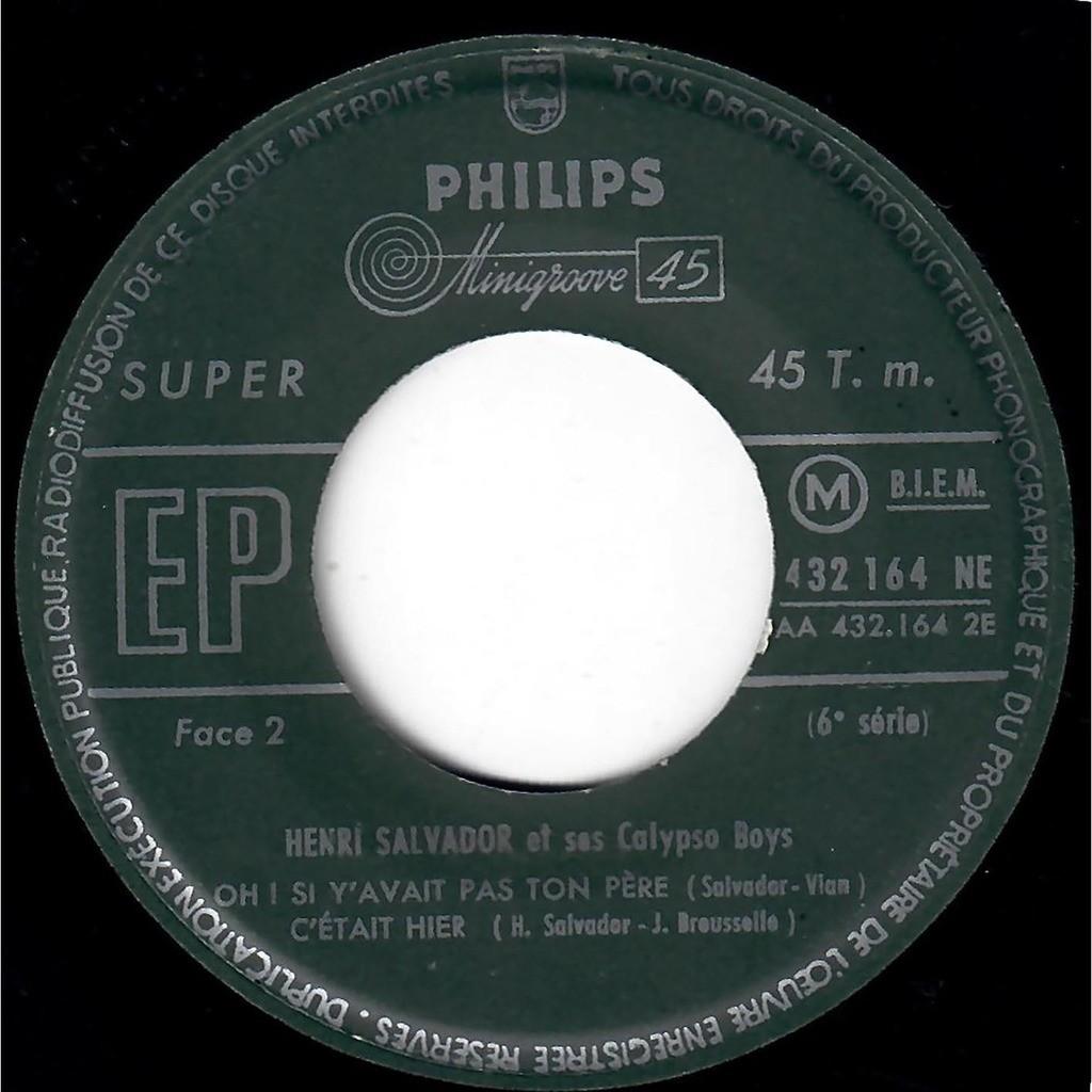 Henri Salvador Et Ses Calypso Boys Eh ! Mama !