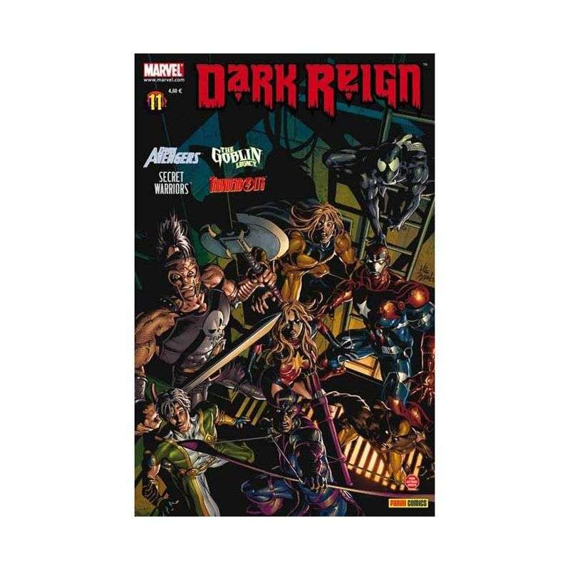 DARK REIGN 11 - MARVEL DARK REIGN 11 - THE GOBLIN LEGACY, THUNDERBOLTS, SECRET WARRIORS, DARK AVENGERS