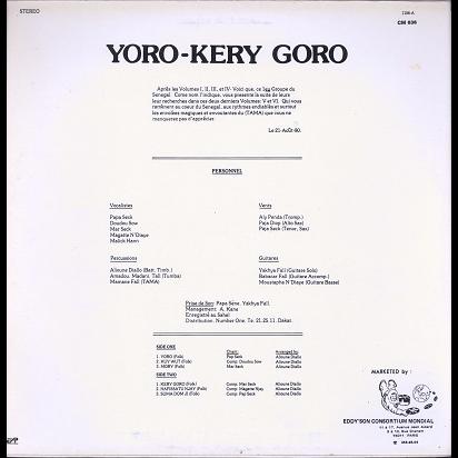 Number One Du Senegal Yoro-Kery Goro