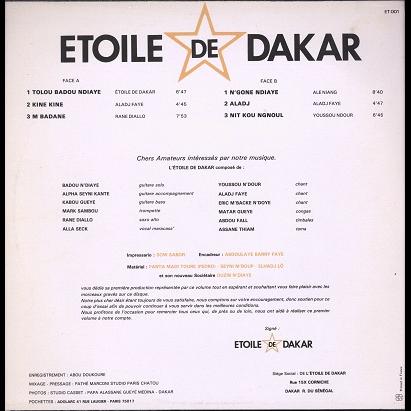 Etoile De Dakar Tolou Badou N'Diaye