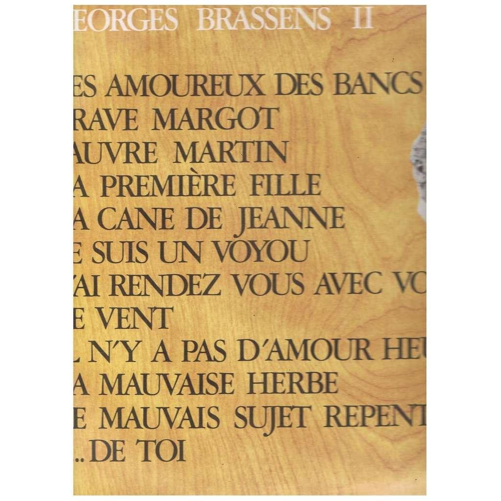 Georges Brassens 2 Les Amoureux Des Bancs Publics De Georges
