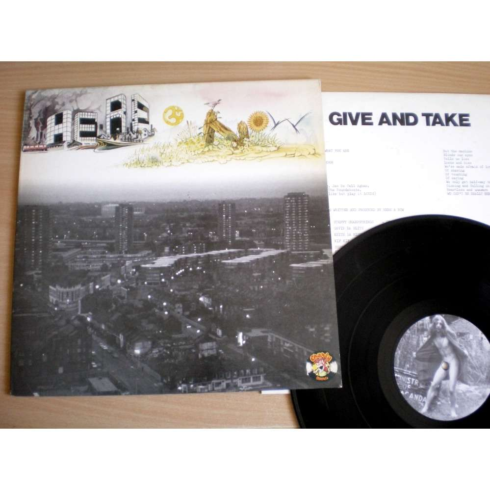 Here & Now Give And Take ( Translucent burgundy vinyl under light )