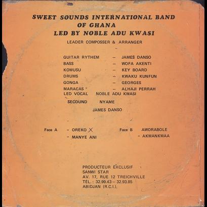 Sweet Sounds International Band Of Ghana Aworabole Akwankwaa