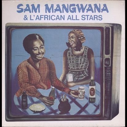 sam mangwana, african all stars georgette eckins