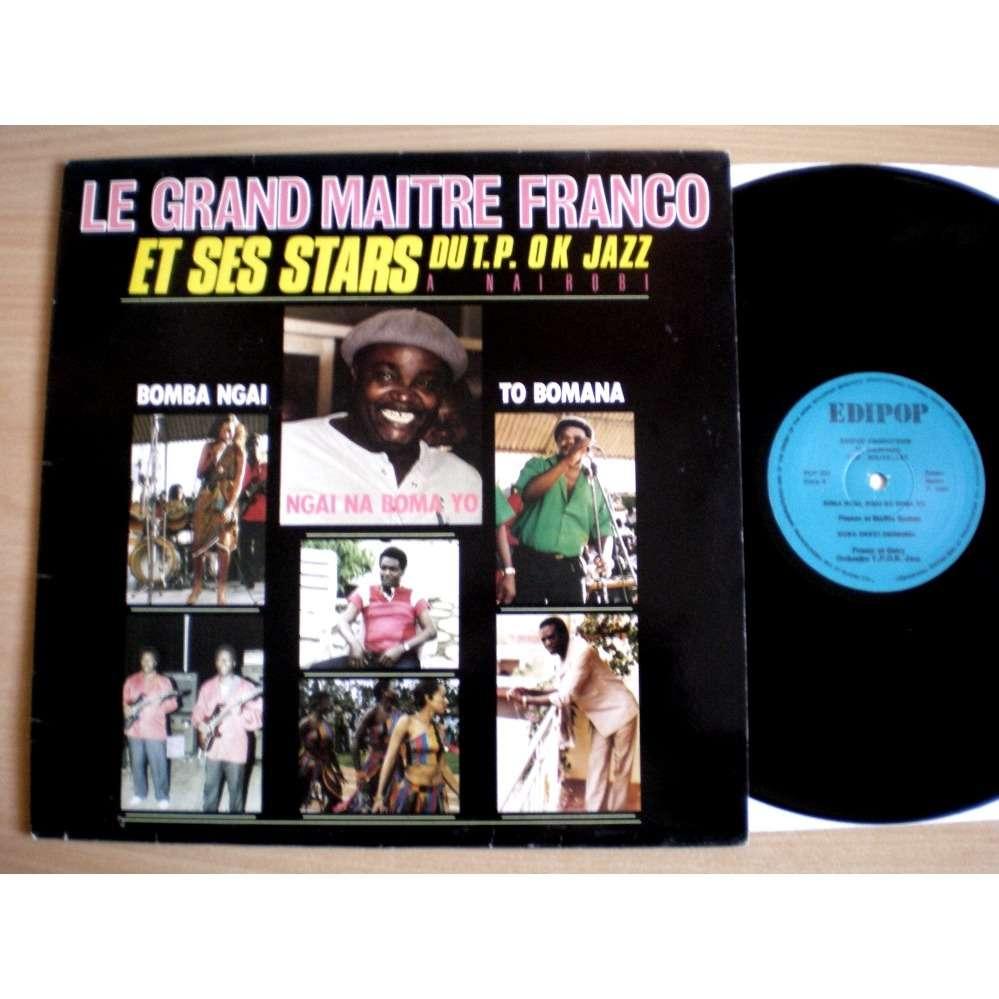Franco Le Grand Maitre Et Ses Stars T.P. O.K. Jazz A Nairobi