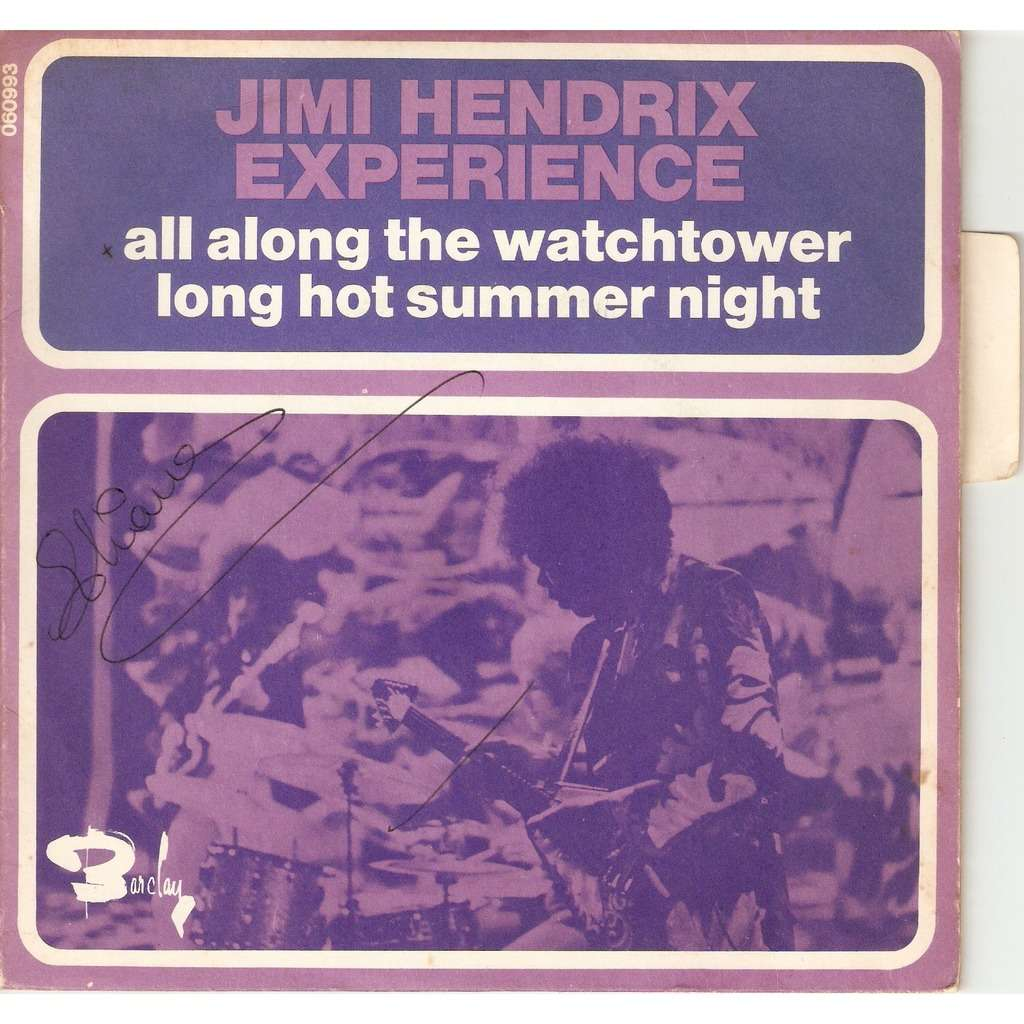 HENDRIX Jimi ALL ALONG THE WATCHTOWER