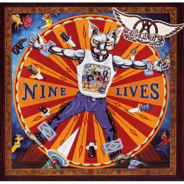 Nine Lives By Aerosmith Cd With Discover Br Ref 3397812001