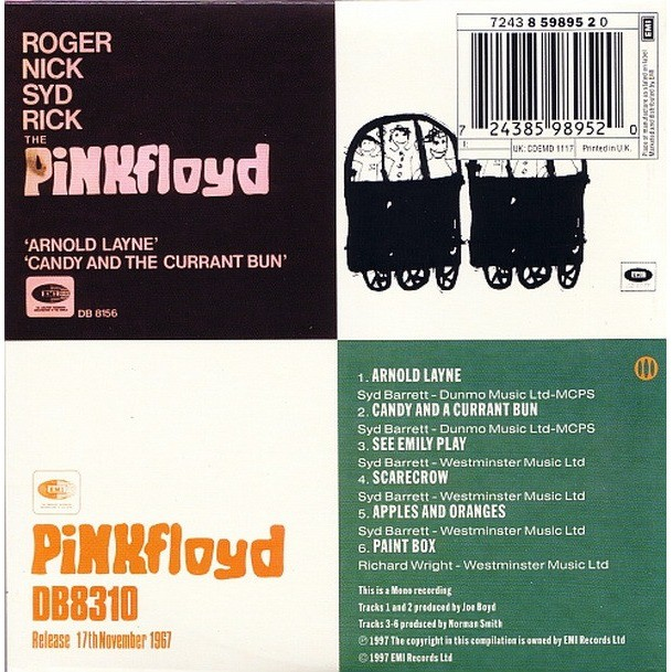 Pink Floyd 1967 / The First 3 Singles