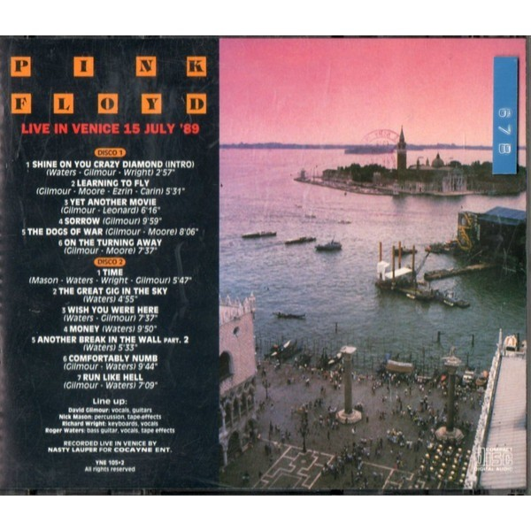 Pink Floyd Live In Venice 15.7.89