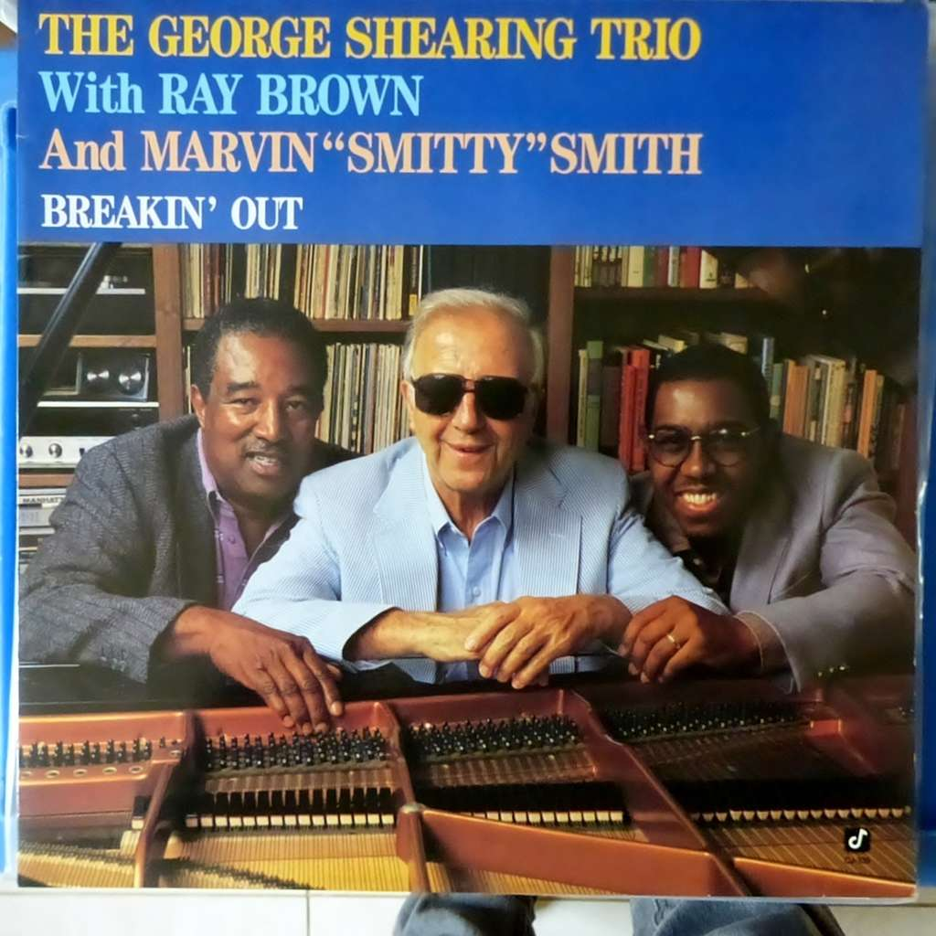 THE GEORGE SHEARING TRIO BREAKIN'OUT