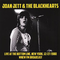 JOAN JETT & THE BLACKHEARTS - Live At The Bottom Line, New York, 12/27/80. WNEW FM Broadcast (lp) - LP