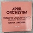 APRIL ORCHESTRA - poncho color viento APRIL ORCHESTRA VOL 59 - 33T