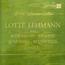 lotte lehmann - chante... - 33T