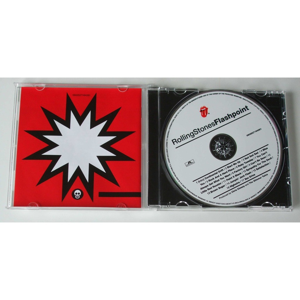 Flashpoint by The Rolling Stones, CD with dom88
