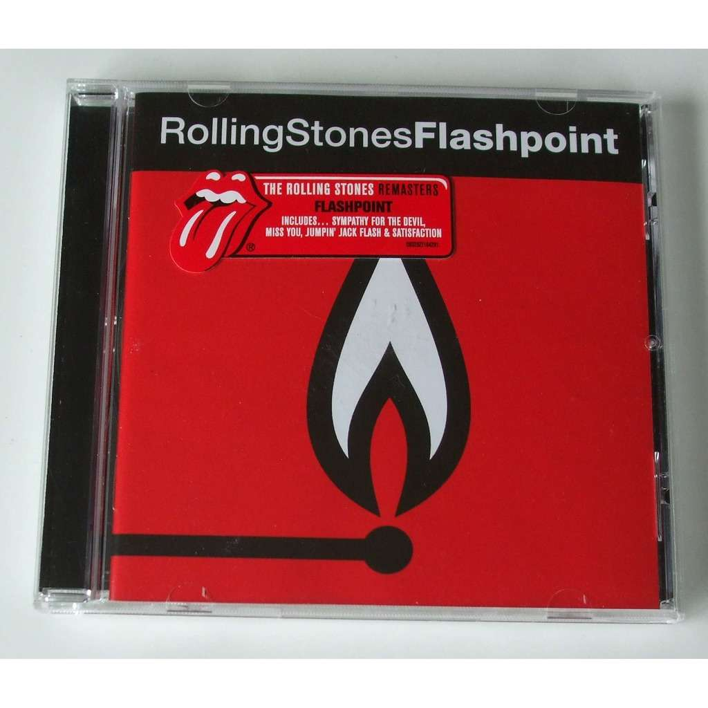 Flashpoint by the rolling stones cd with dom88 ref118976648 the rolling stones flashpoint biocorpaavc