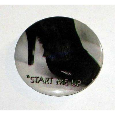the rolling stones Start Me Up Badge