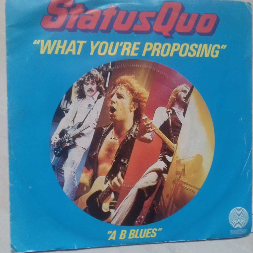 status quo what you're proposing