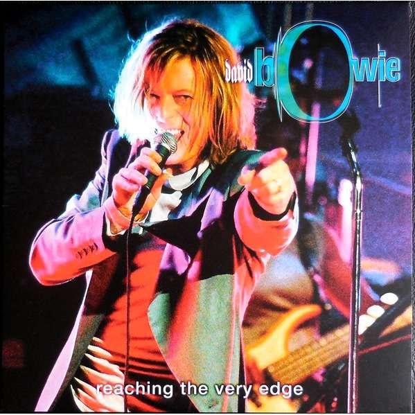 David Bowie Reaching The Very Edge (lp) Ltd Edit Blue Vinyl & 500 Copies -E.U