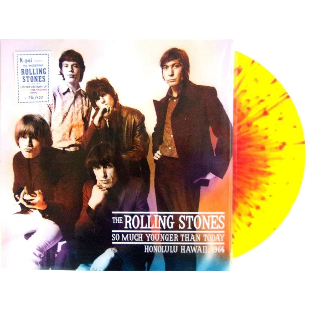The Rolling Stones So Much Younger Than Today (lp) Ltd Edit Colour Vinyl -E.U