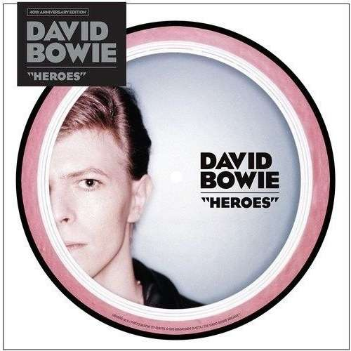 David Bowie Heroes (Euro 2017 Ltd '40th anniversary' 2-trk 7single picture disc stickered pvc slv)