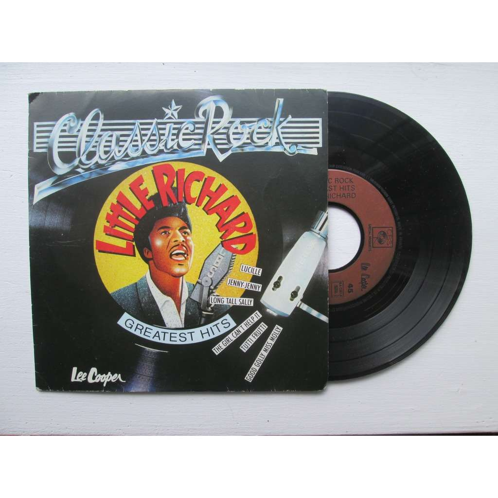 LITTLE RICHARD classic rock - greatest hits : lucille + 5 ( 45t 6 titres )