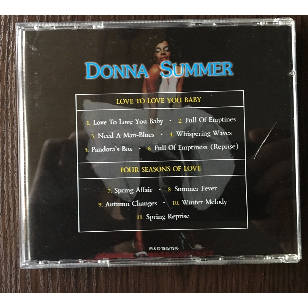 Donna Summer Love to Love You baby / Four Seasons of Love
