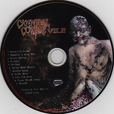 Vile by Cannibal Corpse, CD with ledotakas - Ref:118981031