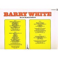 WHITE BARRY and love unlimited orchestra