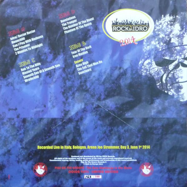 Iron Maiden 2014 Rock In Idro (2xlp) Ltd Edit Colour Vinyl -Italy