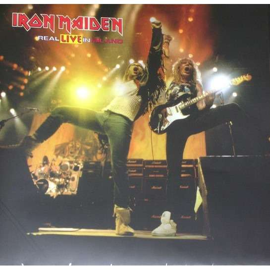 Iron Maiden ‎ Real Live In Milano (2xlp) Ltd Edit Colour Vinyl -Italy