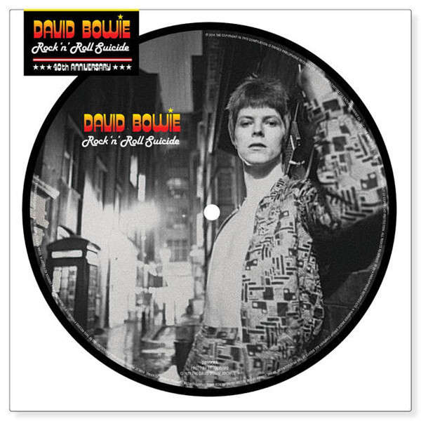 David Bowie Rock 'n' Roll Suicide Picture Disc