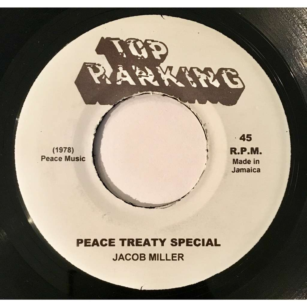 Jacob Miller Peace Treaty Special