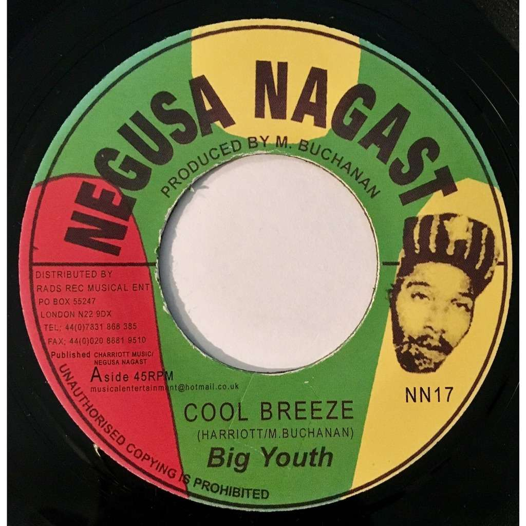 Big Youth Cool Breeze