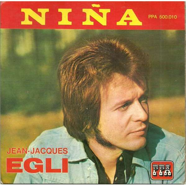 Jean-Jacques EGLI Nina (original French press - 1963)