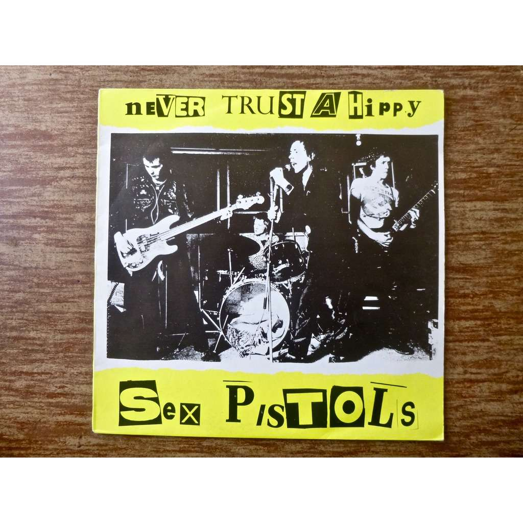 hippy poster pistols a Sex never trust