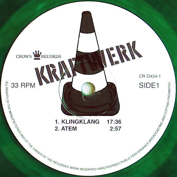Kraftwerk Kraftwerk 2 Green Vinyl