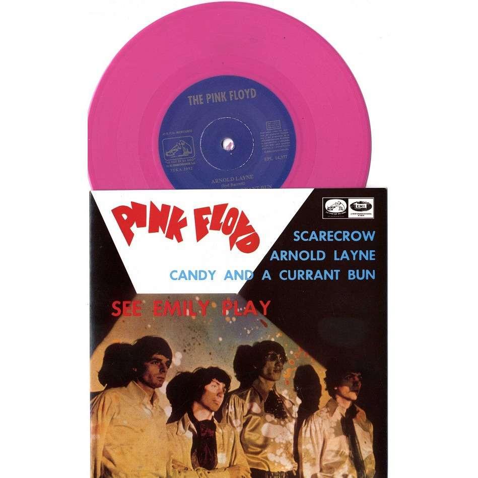 THE PINK FLOYD SEE EMILY PLAY EP Pink Vinyl