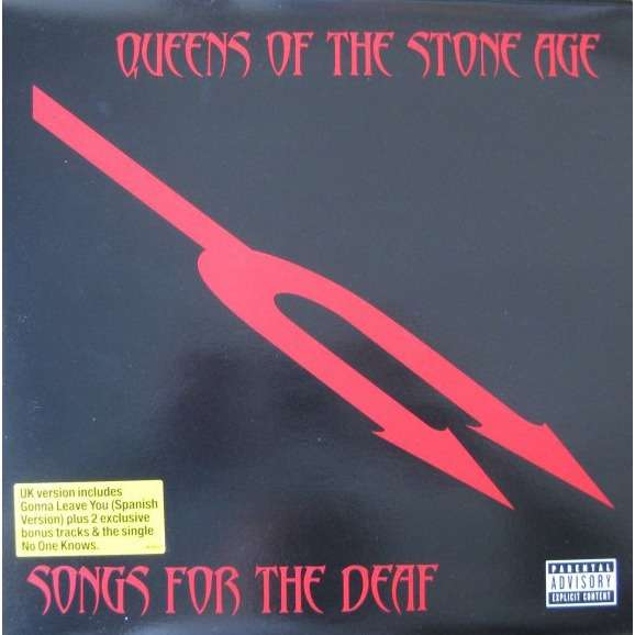 Queens of the Stone Age Songs For The Deaf (Euro 2LP Red vinyl)