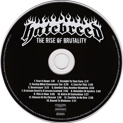 HATEBREED The Rise of Brutality