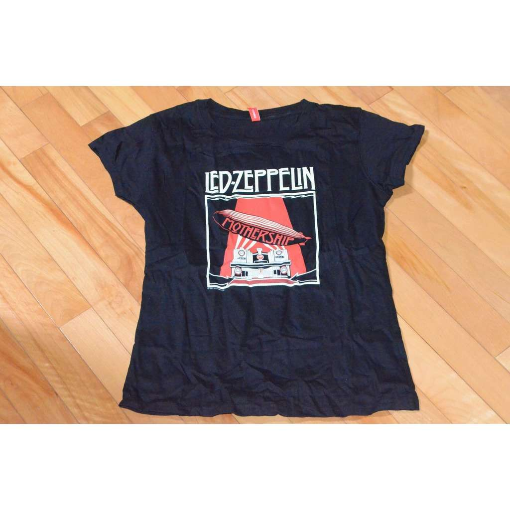 led zeppelin t shirt led zeppelin mothership