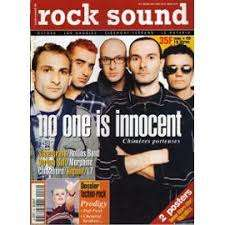rock sound no one is innocent