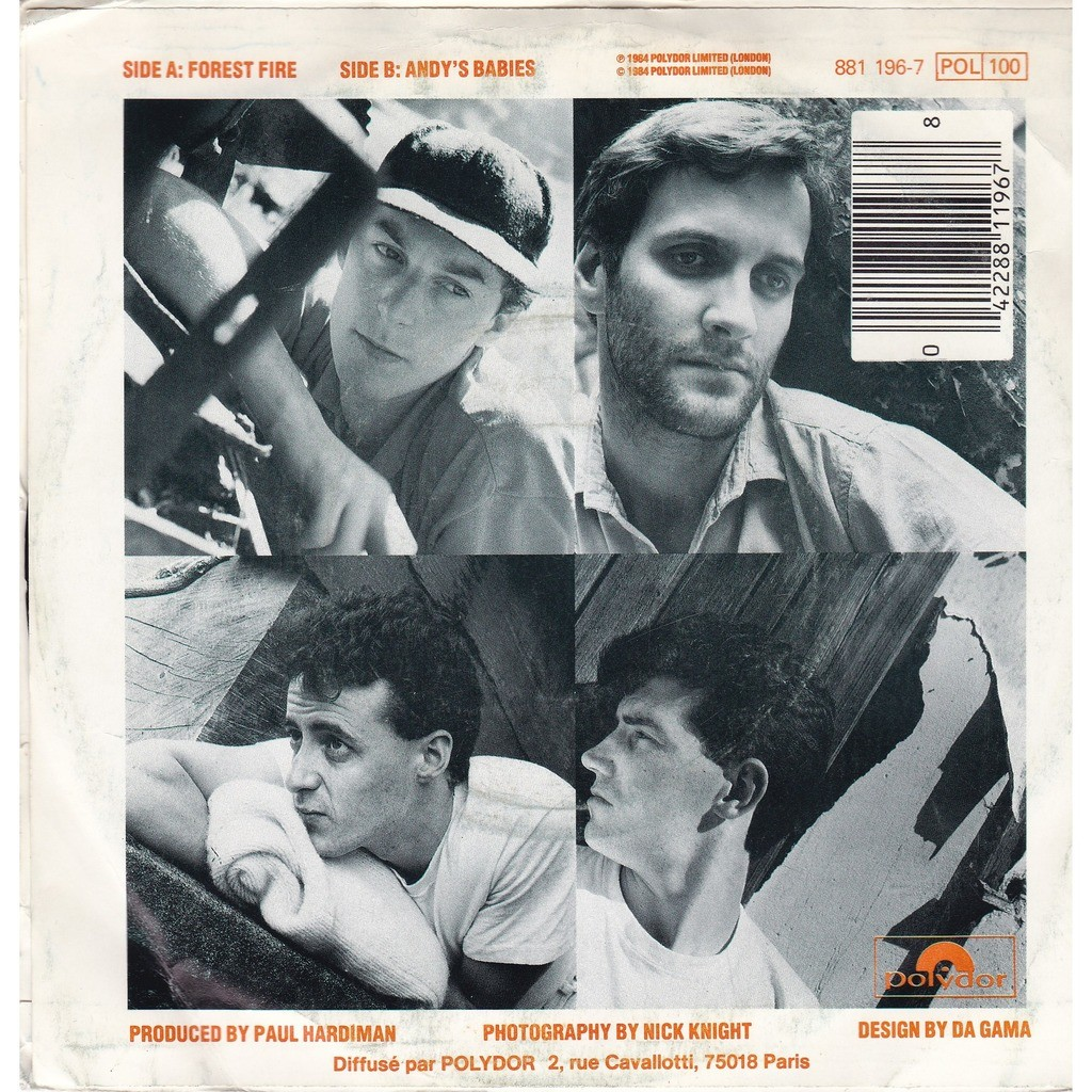 Lloyd COLE and the COMMOTIONS Forest fire