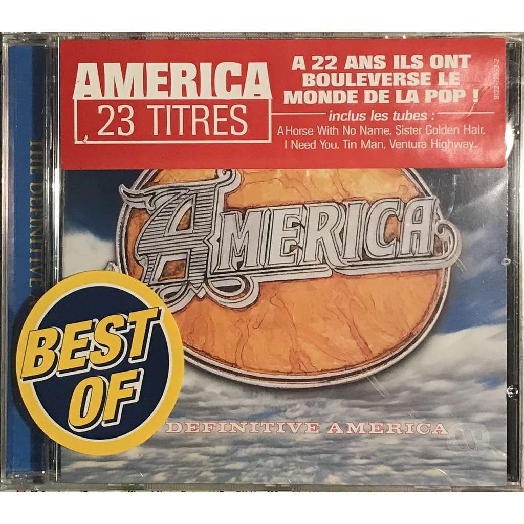 definitive america  The definitive america by America, CD with musiquepourtous - Ref ...